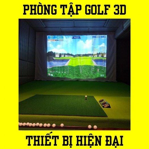 Golf 3D set up0