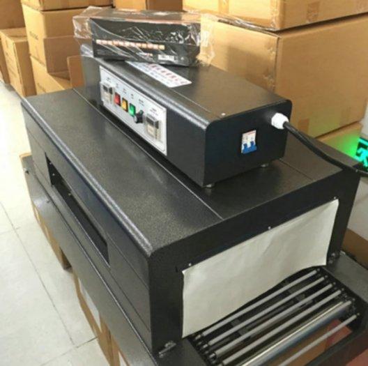 Máy rút màng co các loại sản phẩm, máy co băng dính, hộp mỹ phẩm, sách vở, bánh đa...0