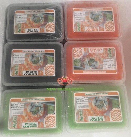 Trứng Tobiko, Trứng Ebiko - New Fresh Foods4