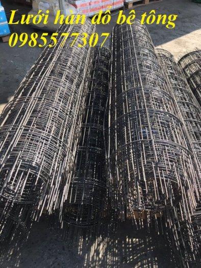 Lưới thép đổ sàn phi 4 a100 x 100,  150 x150, 200 x 2003