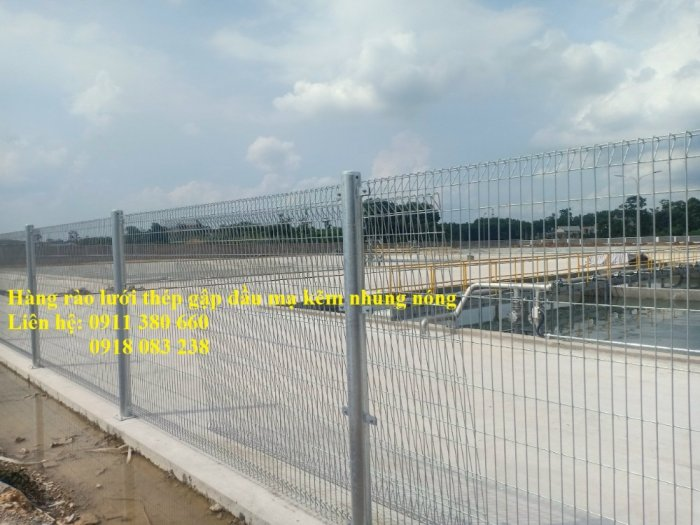 Hàng rào lưới thép mạ kẽm nhúng giá tốt nhất Hà Nội- Nhật Minh Hiếu2