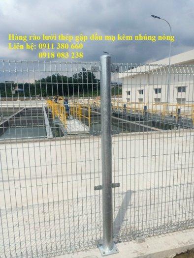 Hàng rào lưới thép mạ kẽm nhúng giá tốt nhất Hà Nội- Nhật Minh Hiếu1