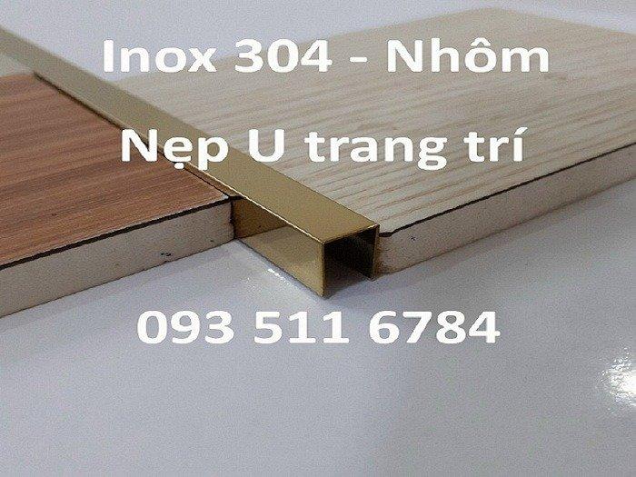Nẹp U trang trí - Nẹp V góc nhôm - Nẹp T Inox nối sàn - Nẹp LA Inox2