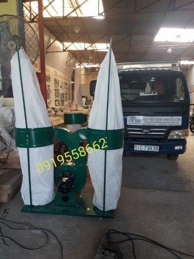 Máy hút bụi 2 túi vải giải pháp tối ưu cho các xưởng  tại Thuận An, Bình Dương0