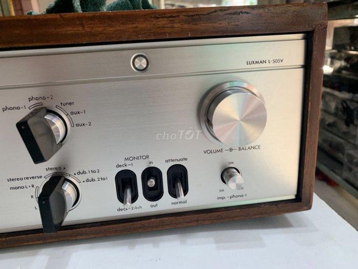 Bán chuyên Ampli luxman L505V đẹp long lanh hàng bải tuyển chọn về zin 100% , không chỉnh sửa,7