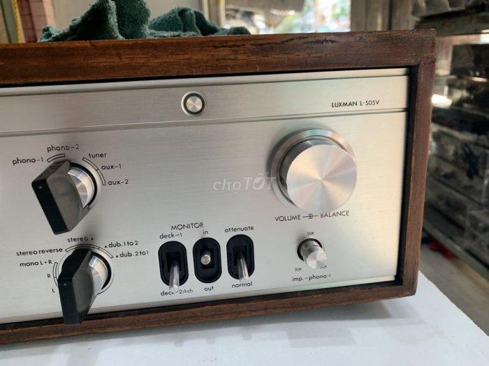 Bán chuyên Ampli luxman L505V đẹp long lanh hàng bải tuyển chọn về zin 100% , không chỉnh sửa,6
