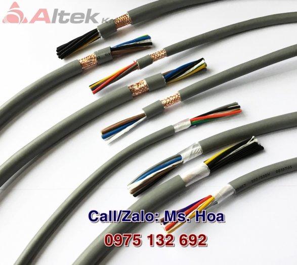 Cáp điều khiển 8x0.5, 8x0.75, 8x1.0, 8x1.5mm2 chống nhiễu Altek Kabel4