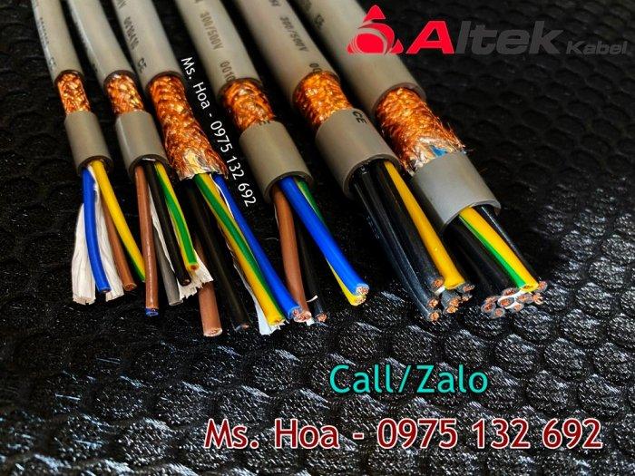 Cáp điều khiển 8x0.5, 8x0.75, 8x1.0, 8x1.5mm2 chống nhiễu Altek Kabel3