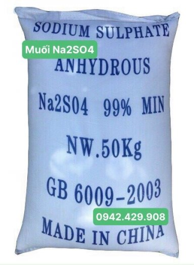 Muối Sodium Sunphate Na2SO40