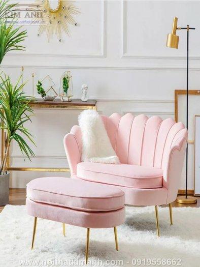 Ghế sofa vỏ sò bọc nỉ cao cấp cho phòng khách tại Phú Giáo - Bình Dương8