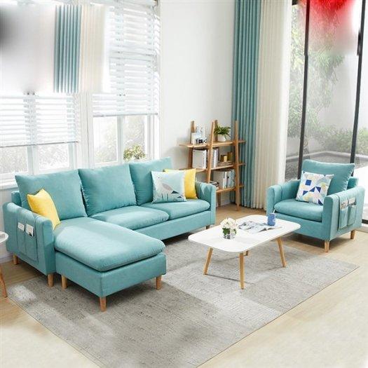 TOP 10 mẫu ghế sofa góc L đẹp cho phòng khách được săn đón nhất năm 20218