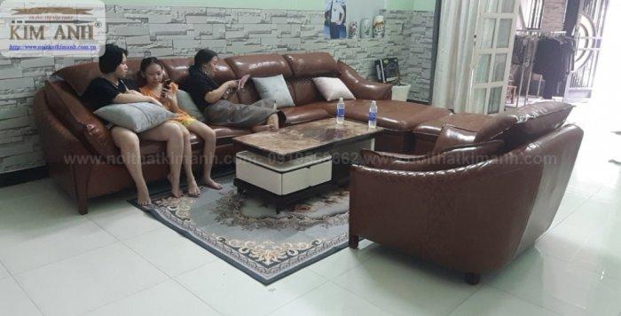 Mua bàn ghế sofa trả góp lãi suất 0% tại nội thất Kim Anh chỉ cần thẻ tín dụng4