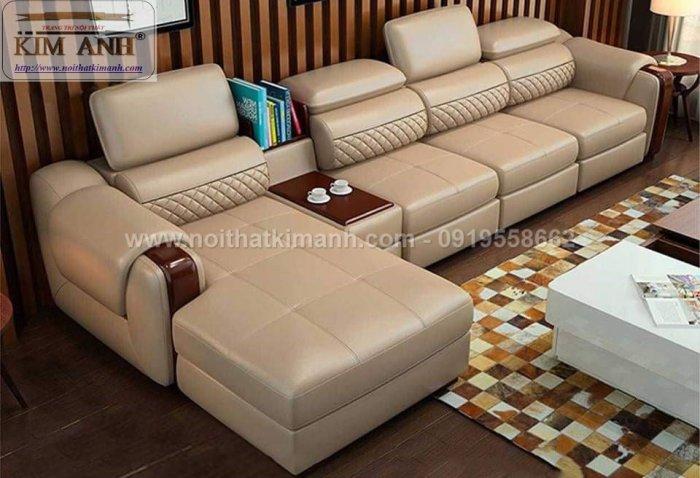 Sofa da công nghiệp cho phòng khách, chung cư tại Biên Hòa, Đồng Nai8