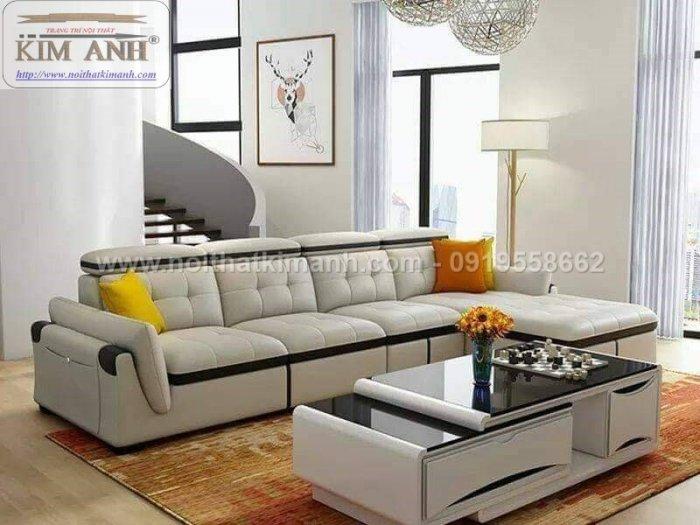 Sofa da công nghiệp cho phòng khách, chung cư tại Biên Hòa, Đồng Nai7