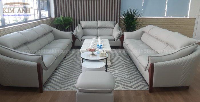 Sofa da công nghiệp cho phòng khách, chung cư tại Biên Hòa, Đồng Nai4