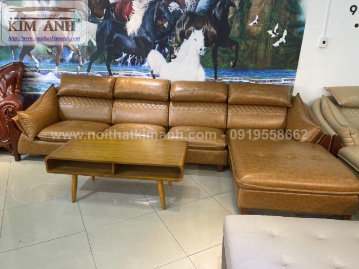 Sofa da công nghiệp cho phòng khách, chung cư tại Biên Hòa, Đồng Nai3
