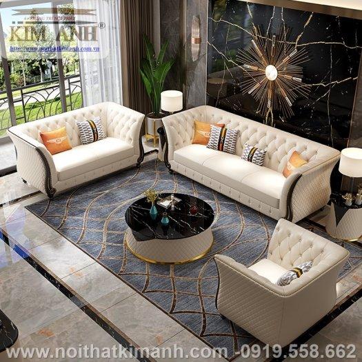 Sofa da công nghiệp cho phòng khách, chung cư tại Biên Hòa, Đồng Nai2