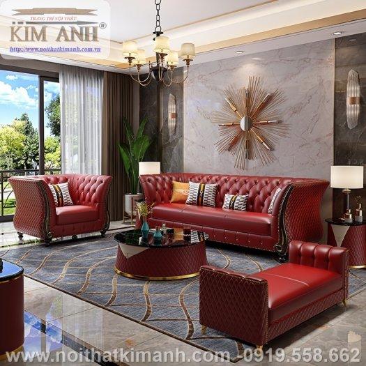Sofa da công nghiệp cho phòng khách, chung cư tại Biên Hòa, Đồng Nai0