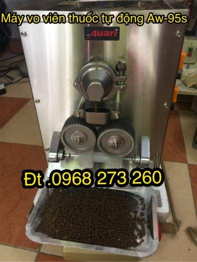 Máy vo viên thuốc đông y tự động AW95S 2 Line0