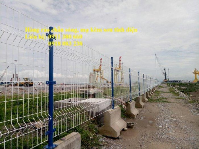 Bán hàng rào lưới thép mạ kẽm sơn tĩnh điện giá tốt ở Hà Nội- Nhật Minh Hiếu2