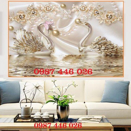 Gạch ôp tường tranh trang trí đẹp Hp022210