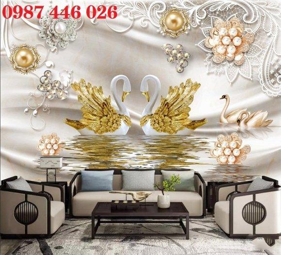 Gạch ôp tường tranh trang trí đẹp Hp02229