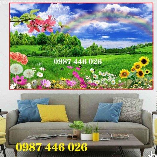 Gạch ôp tường tranh trang trí đẹp Hp02221
