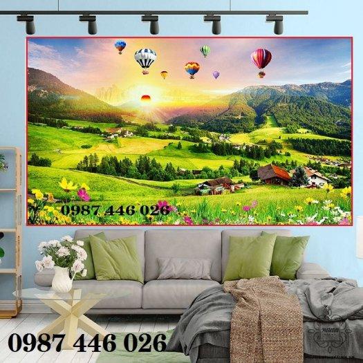 Gạch ôp tường tranh trang trí đẹp Hp02220