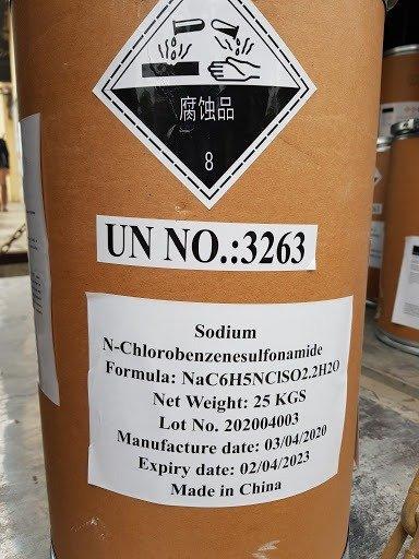 Chloramine B  (Cloramin B ) chất duyệt khuẩn – xử lý nước - hóa chất hot nhất hiện nay0