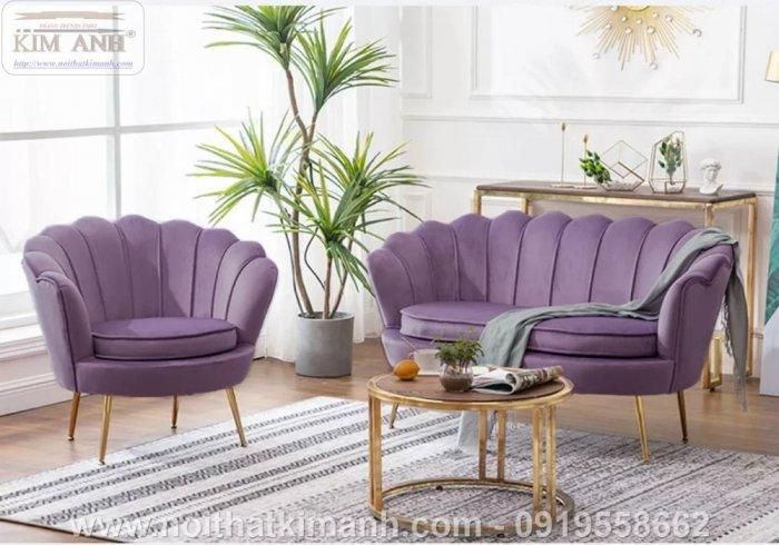 Sofa vỏ sò thiết kế độc đáo dành cho các tiệm cafe tại Phú Giáo1