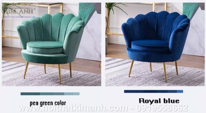 Sofa vỏ sò thiết kế độc đáo dành cho các tiệm cafe tại Phú Giáo0