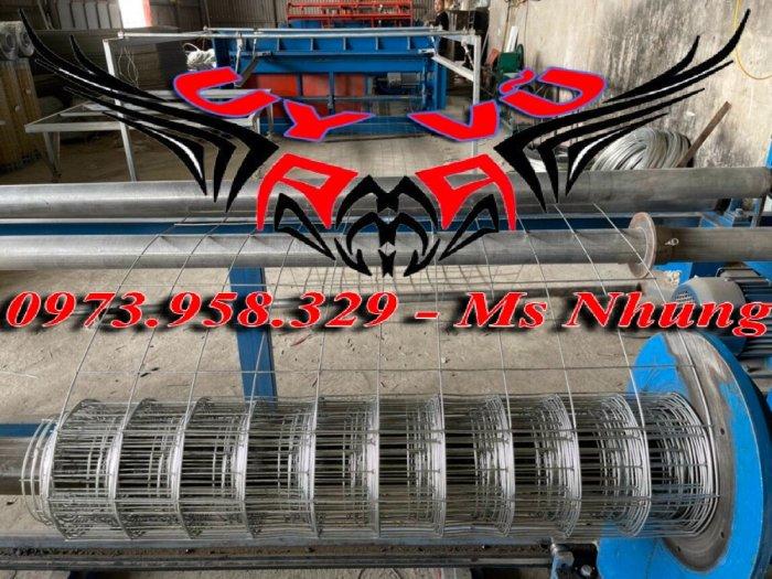 Sản xuất lưới thép hàn mạ kẽm - lưới hàn ô vuông Phi 4 ( 50x 50 ) giá ưu đãi hàng có săn giao hàng toàn quốc26