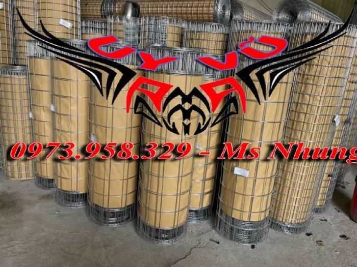 Sản xuất lưới thép hàn mạ kẽm - lưới hàn ô vuông Phi 4 ( 50x 50 ) giá ưu đãi hàng có săn giao hàng toàn quốc25