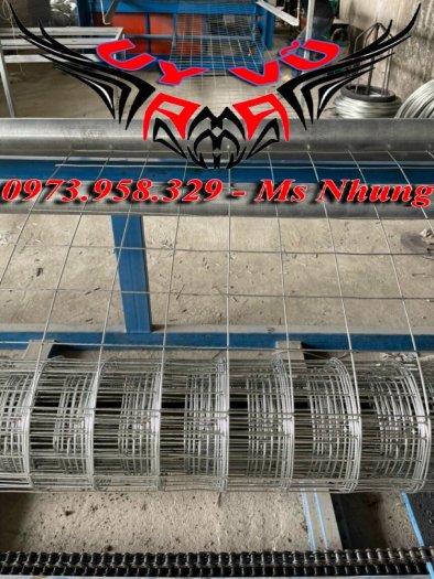 Sản xuất lưới thép hàn mạ kẽm - lưới hàn ô vuông Phi 4 ( 50x 50 ) giá ưu đãi hàng có săn giao hàng toàn quốc24