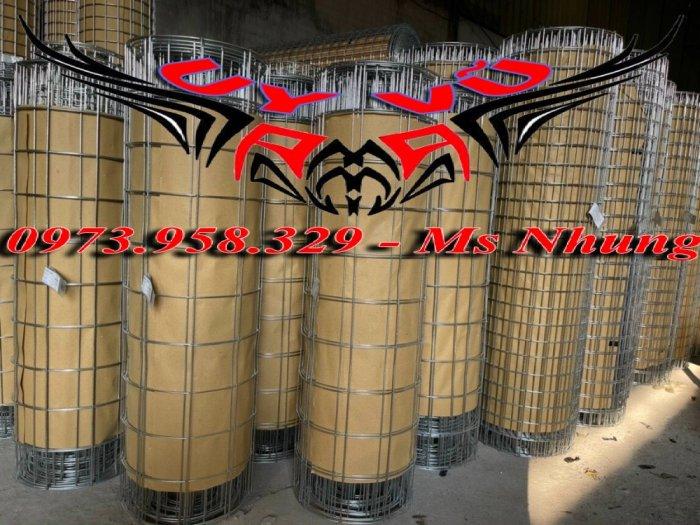 Sản xuất lưới thép hàn mạ kẽm - lưới hàn ô vuông Phi 4 ( 50x 50 ) giá ưu đãi hàng có săn giao hàng toàn quốc23