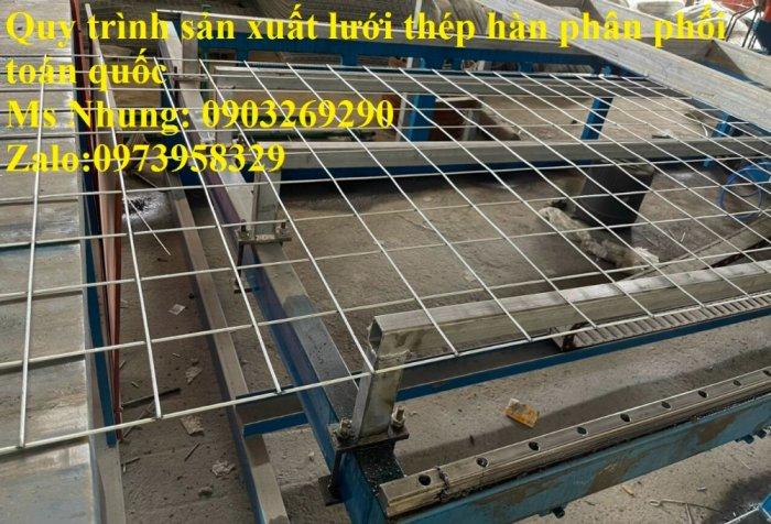 Sản xuất lưới thép hàn mạ kẽm - lưới hàn ô vuông Phi 4 ( 50x 50 ) giá ưu đãi hàng có săn giao hàng toàn quốc22