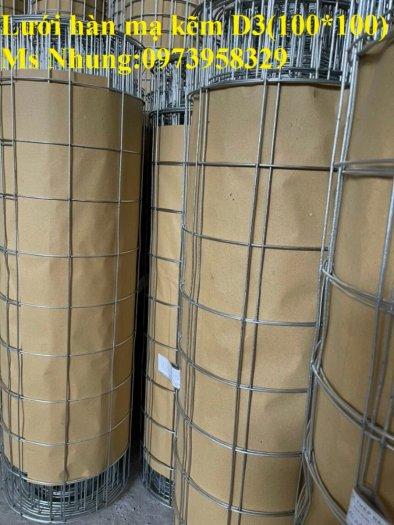 Sản xuất lưới thép hàn mạ kẽm - lưới hàn ô vuông Phi 4 ( 50x 50 ) giá ưu đãi hàng có săn giao hàng toàn quốc20