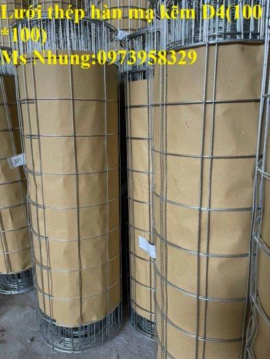 Sản xuất lưới thép hàn mạ kẽm - lưới hàn ô vuông Phi 4 ( 50x 50 ) giá ưu đãi hàng có săn giao hàng toàn quốc18