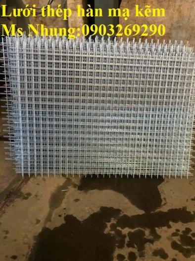 Sản xuất lưới thép hàn mạ kẽm - lưới hàn ô vuông Phi 4 ( 50x 50 ) giá ưu đãi hàng có săn giao hàng toàn quốc17