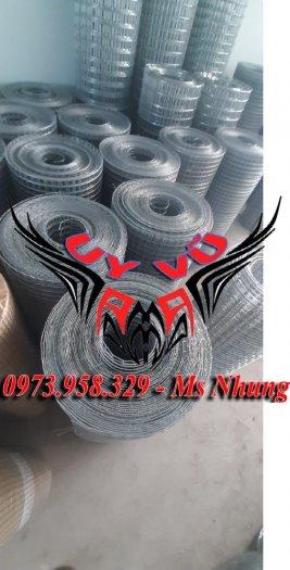 Sản xuất lưới thép hàn mạ kẽm - lưới hàn ô vuông Phi 4 ( 50x 50 ) giá ưu đãi hàng có săn giao hàng toàn quốc11