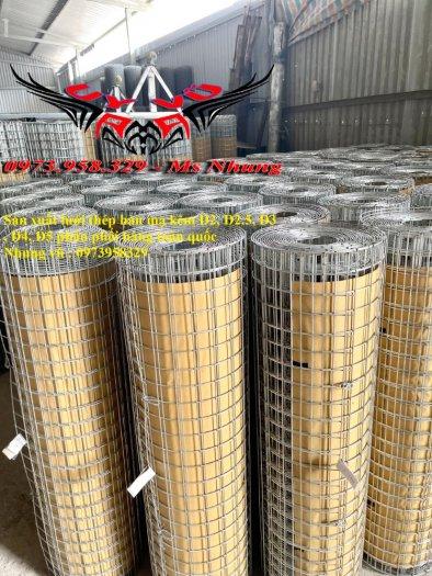 Sản xuất lưới thép hàn mạ kẽm - lưới hàn ô vuông Phi 4 ( 50x 50 ) giá ưu đãi hàng có săn giao hàng toàn quốc3