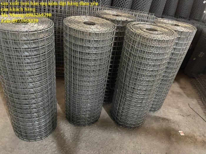 Sản xuất lưới thép hàn mạ kẽm - lưới hàn ô vuông Phi 4 ( 50x 50 ) giá ưu đãi hàng có săn giao hàng toàn quốc2
