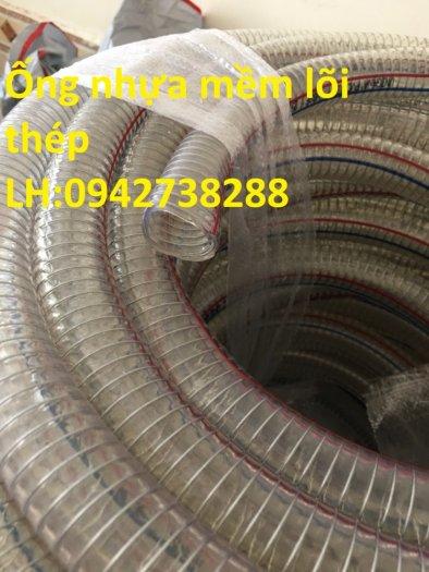 ống nhựa mềm lõi thép phi 48, phi 50,phi 55 giá ưu đãi, giao hàng toàn quốc0
