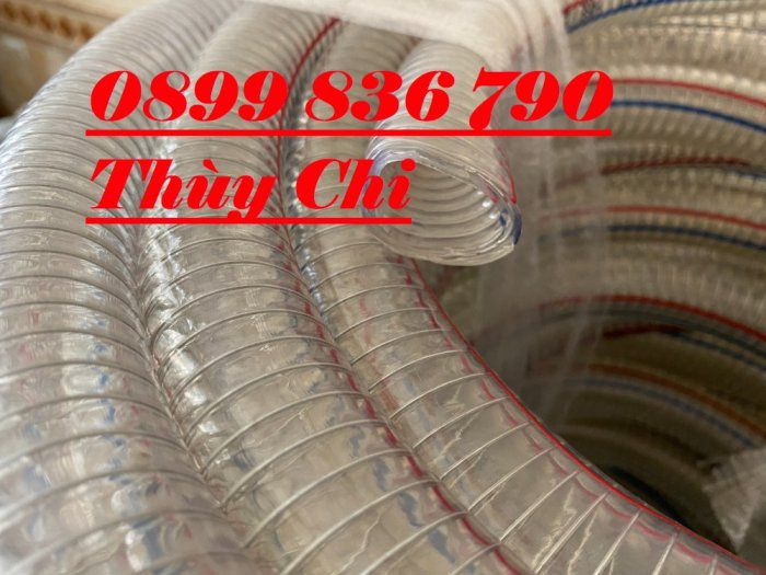 Ống dẫn nước hạt nhựa, hút vỏ cafe , hút hóa chất phi 150mm.6