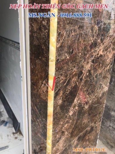 Nẹp nhựa phủ Nano cao cấp - Nẹp nhựa ốp gạch giả đá - Nẹp ốp viền gạch men - Nẹp ốp góc gạch men.17