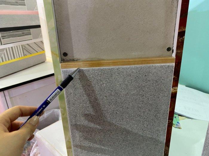 Nẹp nhựa phủ Nano cao cấp - Nẹp nhựa ốp gạch giả đá - Nẹp ốp viền gạch men - Nẹp ốp góc gạch men.15