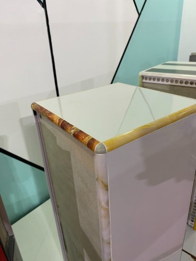Nẹp nhựa phủ Nano cao cấp - Nẹp nhựa ốp gạch giả đá - Nẹp ốp viền gạch men - Nẹp ốp góc gạch men.10