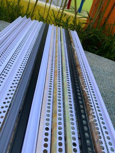 Nẹp nhựa phủ Nano cao cấp - Nẹp nhựa ốp gạch giả đá - Nẹp ốp viền gạch men - Nẹp ốp góc gạch men.8
