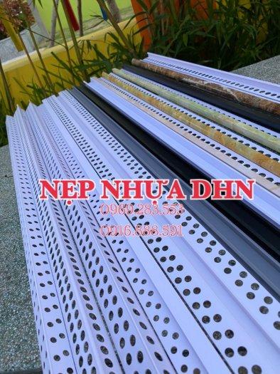 Nẹp nhựa phủ Nano cao cấp - Nẹp nhựa ốp gạch giả đá - Nẹp ốp viền gạch men - Nẹp ốp góc gạch men.6