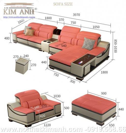 Bộ sưu tập những bộ ghế sofa da công nghiệp ấn tượng nhất năm 202111